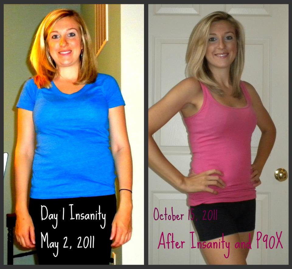Melanie Mitro Bombshell Ladies Using Insanity P90x And