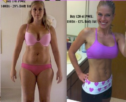 Emily Cappadona – Another Team Dynasty amazing P90X transformation