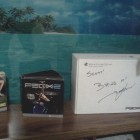 Winning a signed copy of P90X2 from TONY HORTON!