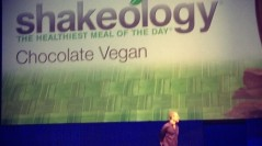 Chocolate Vegan Shakeology- Healthiest Meal of the Day