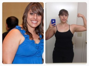 Clarissa F 300x224 P90x Female Results  Beachbody Challenge Group