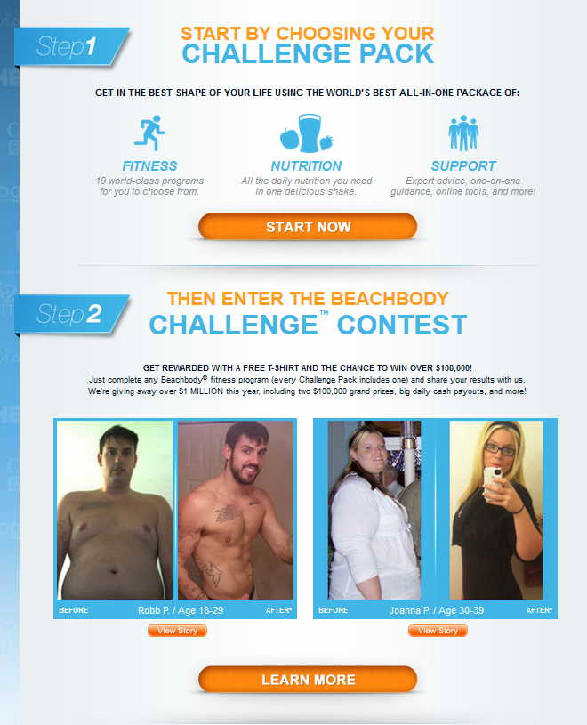 submit beachbody results