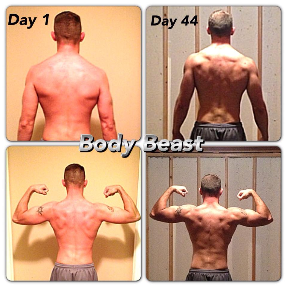 body beast back Ripped in 90 Days