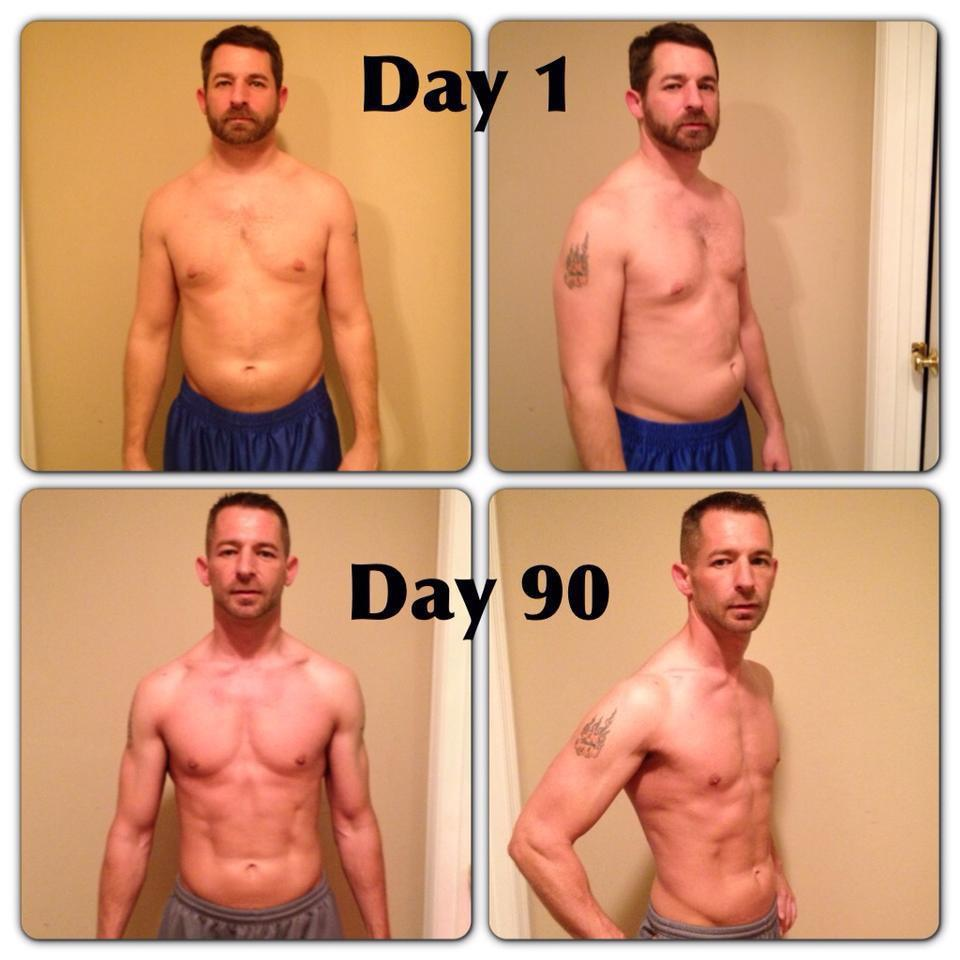 carl beene Ripped in 90 Days
