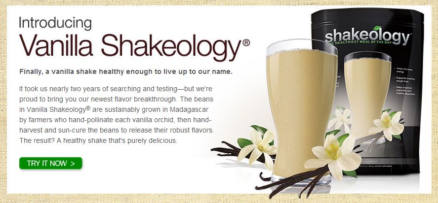 vanilla Shakeology Vanilla Shakeology Recipes