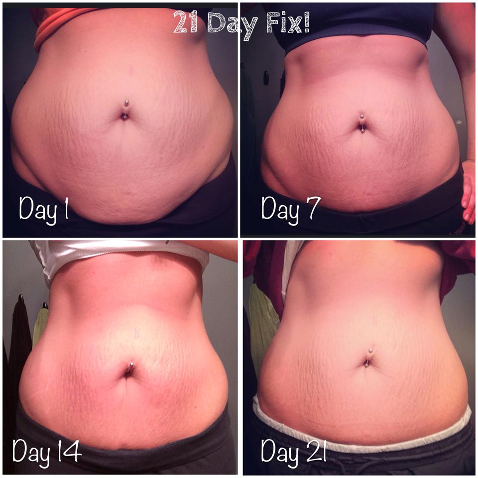 21 Day Fix Results-14 lbs in 21 Days