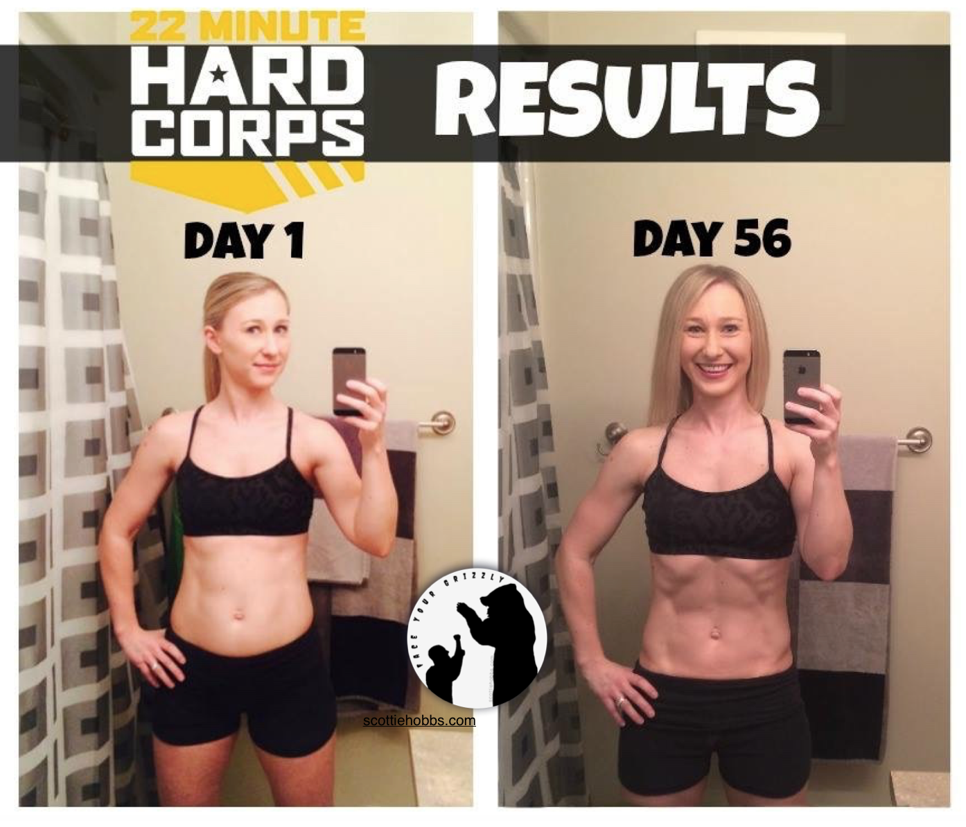 22 Minute Hard Corps Workout Program