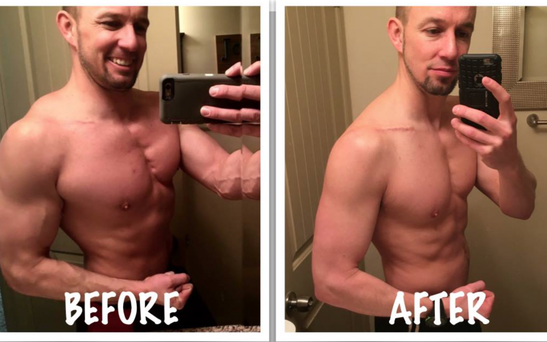A Different Before/After Photo