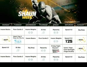 shaun week, shaun week schedule , shaun week calendar, shaun week hybrid