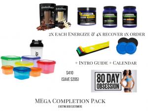mega completion pack, 80 day obsession packs