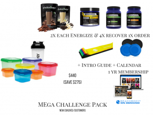 80 day obsession packs, mega challenge pack , 80 day obsession sign up