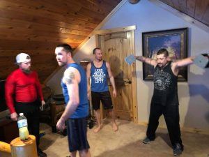 team beachbody, big sky montana, guys retrea, business retreat