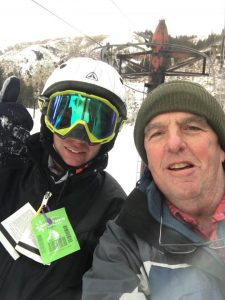 help with back pain, back pain, skiing after 60